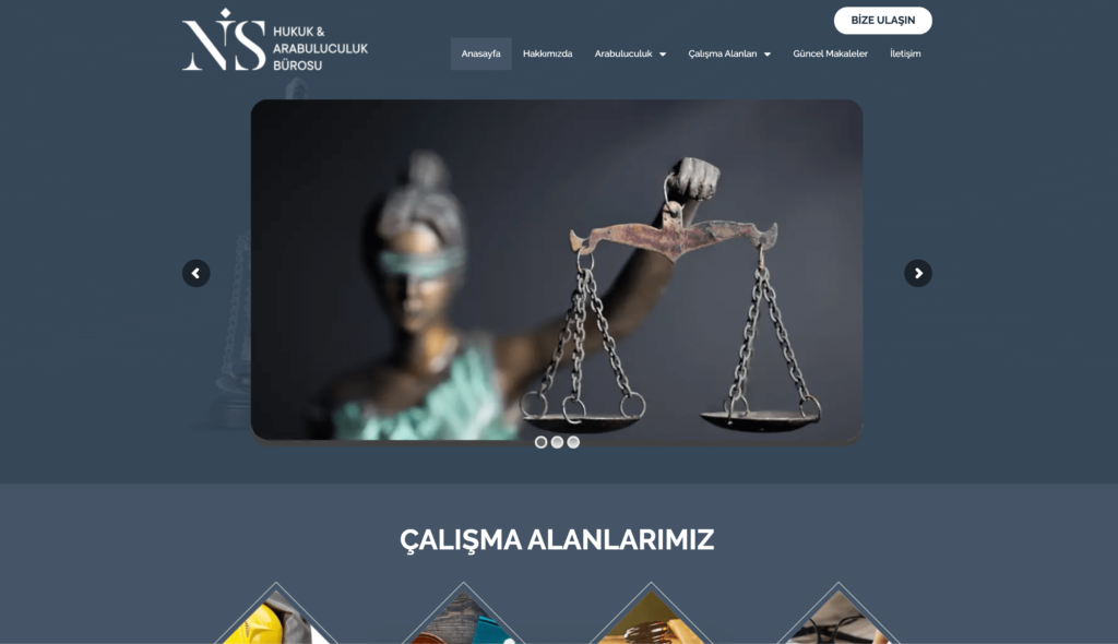 Nis Hukuk Bürosu Web Sitesi