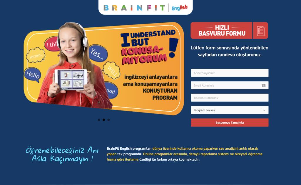 BrainFit English Web Sitesi